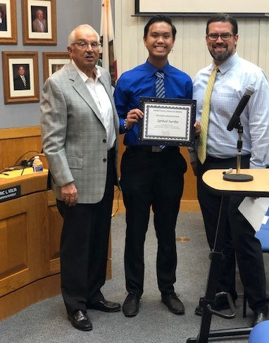 Heritage Student Recognition - Jyrhed Suriba