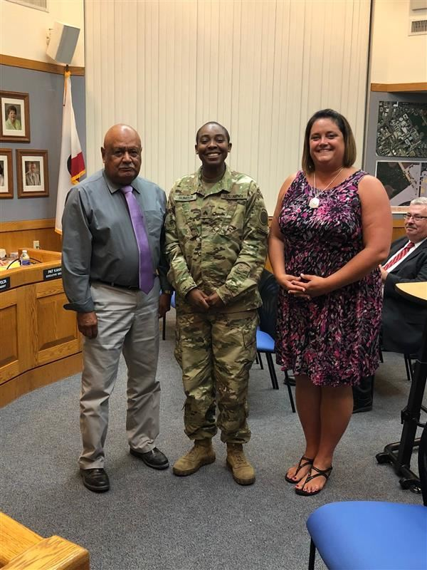 Volunteer Recognition Sgt. Sumter