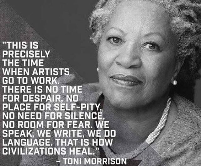 Toni Morrison Quote on Art