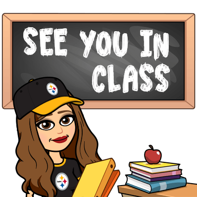See you in class bitmoji