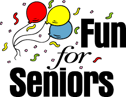 Balloons with Fun For Seniors text