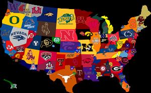 NCAA Map