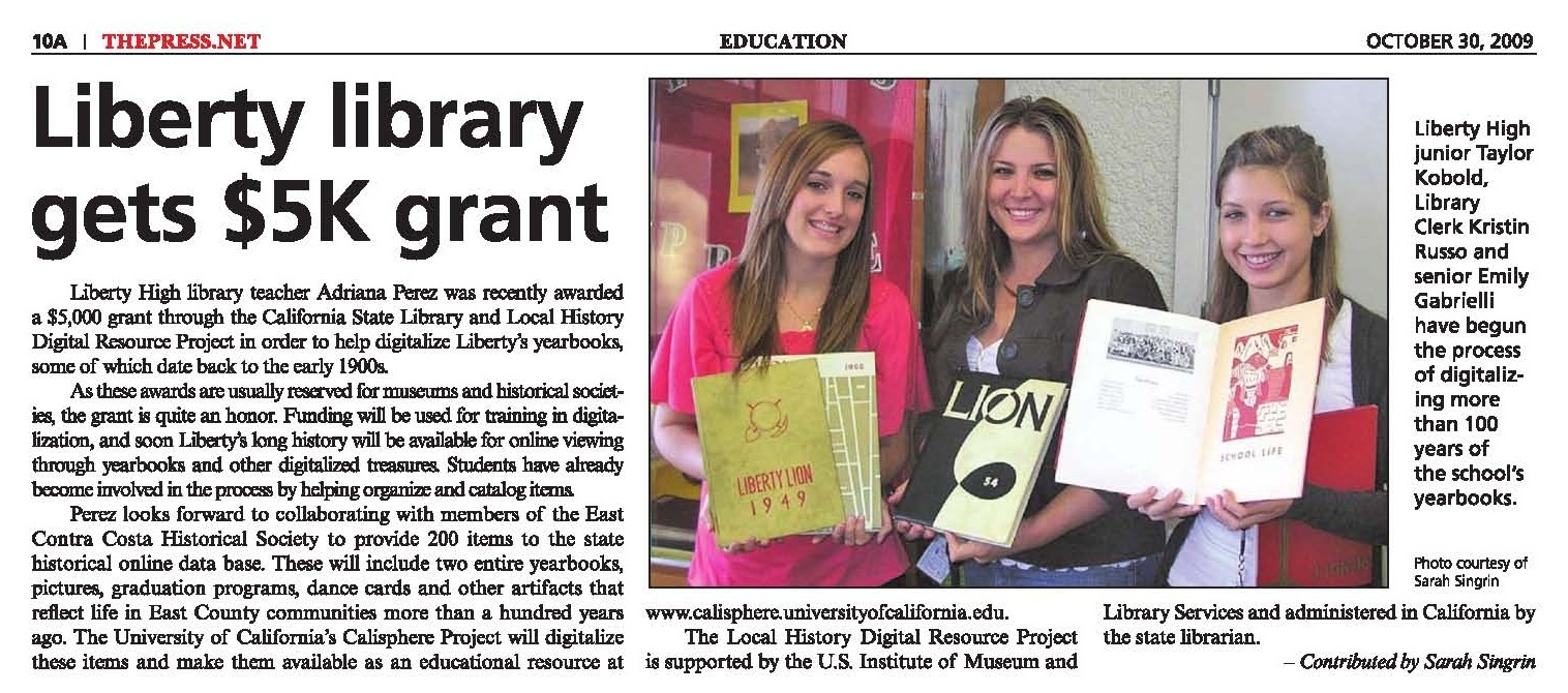 Library Liberty History
