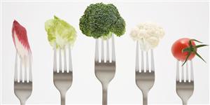 fork veggies